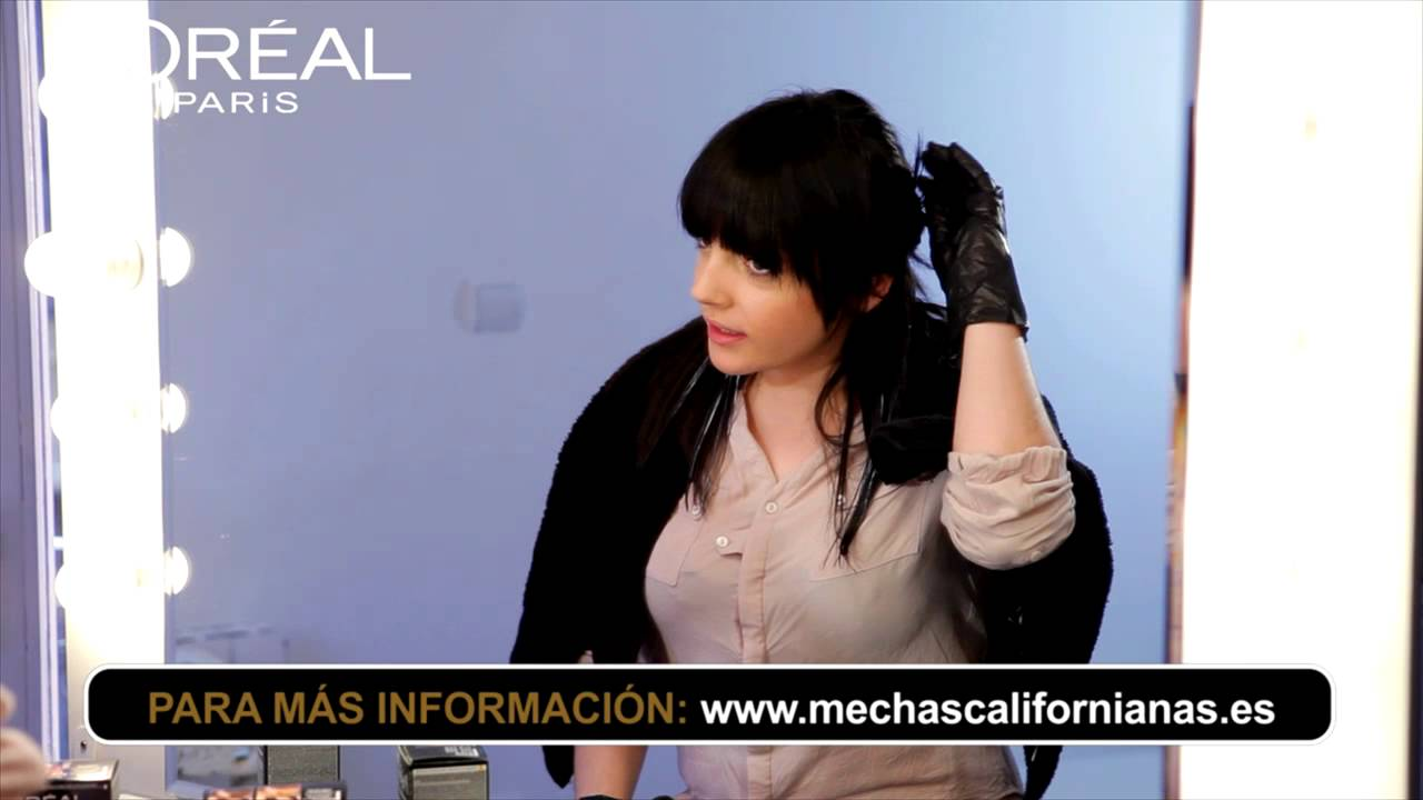Mechas californianas sutiles